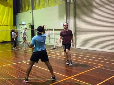 YMCA badminton